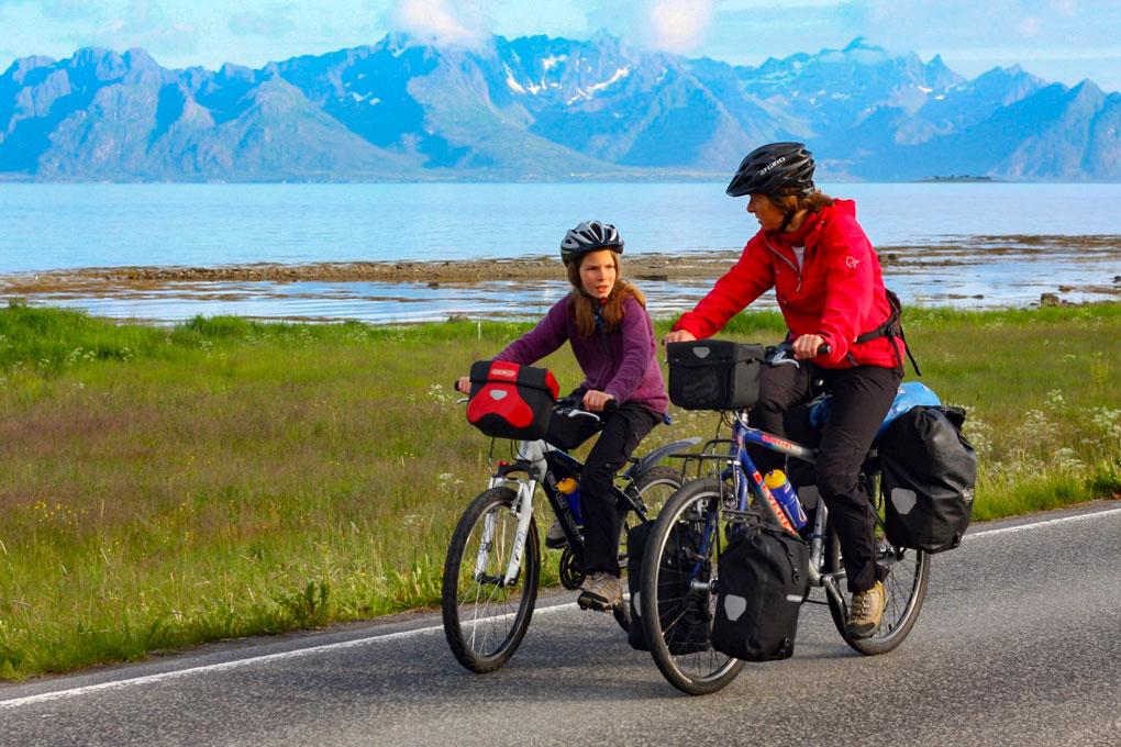 Sykkeltur rundt Hadseløya