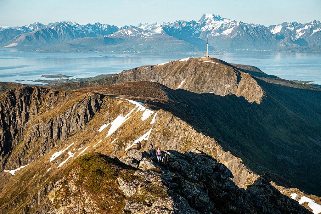 Fjelltur på tvers av Hadseløya