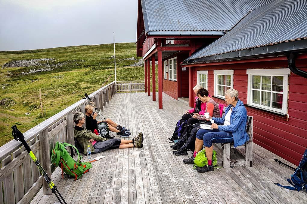 Mountain hiking Ørnhytte groups